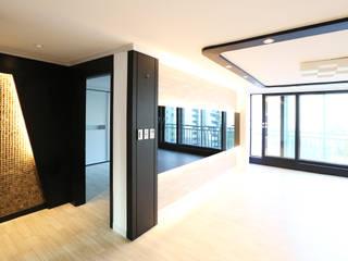 중흥마을 37평 Modern Living Room by 금화 인테리어 Modern