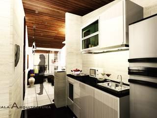 Diseño Renovacion interior apto: Cocinas de estilo  por EZCALA ARQUITECTURA,