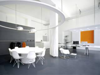 360 brand connection Loftoffice INpuls interior design & architecture Moderne Bürogebäude