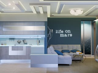 Salas de estilo ecléctico de Center of interior design Ecléctico