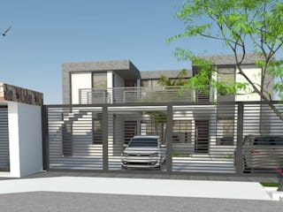 Departamentos - Complejo La Esquina Casas modernas: Ideas, imágenes y decoración de Arq-Diseño Interior Moderno