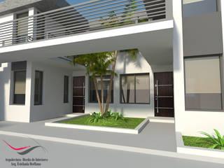 Departamentos - Complejo La Esquina Pasillos, vestíbulos y escaleras modernos de Arq-Diseño Interior Moderno