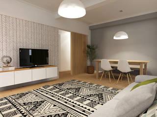 :  Wohnzimmer von homify,Skandinavisch