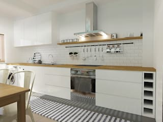 homify Scandinavian style kitchen
