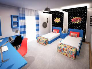 Quarto infantil moderno por GRAÇA Decoração de Interiores Moderno