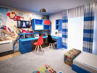 KABLANG: Quartos de criança modernos por GRAÇA Decoração de Interiores