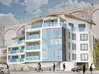 Seafront apartment Casas modernas de THE FRESH INTERIOR COMPANY Moderno