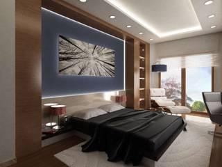 VERO CONCEPT MİMARLIK Modern style bedroom