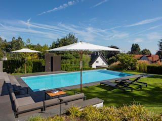 Jardin moderne par Hesselbach GmbH Moderne