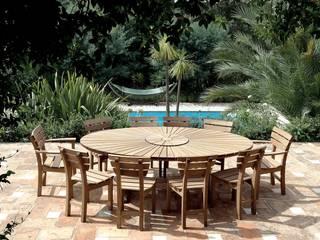 The Gaze Burvill Broadwalk Oval Table & Chancery Chairs:   by Gaze Burvill