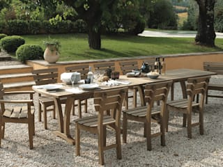 The Gaze Burvill Mead Table & Chancery Chairs:   by Gaze Burvill