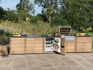 The Gaze Burvill Outdoor Linear Kitchen:   by Gaze Burvill