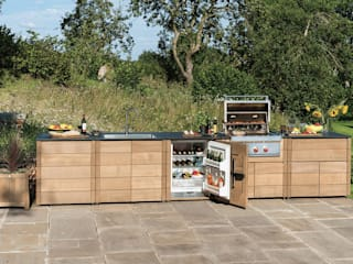 Outdoor Kitchens:   by Gaze Burvill