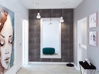 Klimatyczny dom: styl , w kategorii Korytarz, przedpokój zaprojektowany przez Kolorum Projektowanie Wnętrz