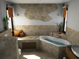 Mediterranes Flair und Urlaubsfeeling : mediterrane Badezimmer von Bad Campioni