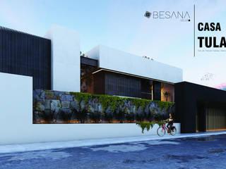 Casa Tula Casas modernas de Besana Studio Moderno
