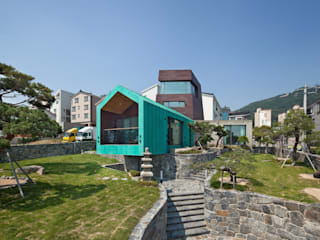 TOWER HOUSE 아시아스타일 정원 by ON ARCHITECTURE INC. 한옥