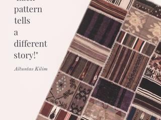 Altuntaş Kilim – El yapımı patchwork kilim:  tarz
