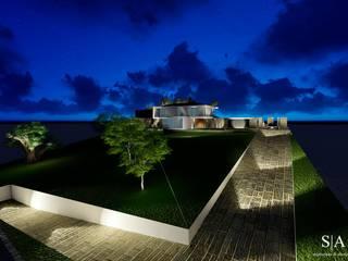 casa RR: Casas  por sandra almeida arquitectura e interiores,Minimalista