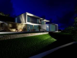 casa RR Casas minimalistas por sandra almeida arquitectura e interiores Minimalista
