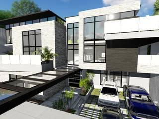 Casa Querales Californiana: Casas de estilo  por Arquitectura Creativa