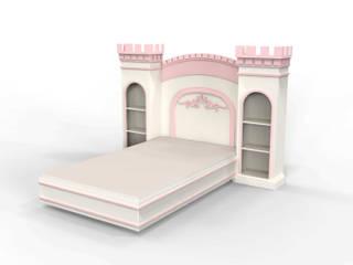 """Детская кровать """"Принцесса"""" DreamlandHouse Детская комнатаКровати Белый"""