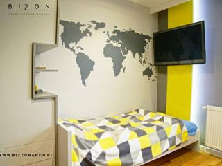 Pokój Nastolatka Nowoczesny pokój dziecięcy od BIZZON ARCHITEKTURA WNĘTRZ Nowoczesny
