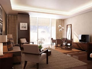 Hotel Interior (Abroad):  Hotels by Umada Concepts