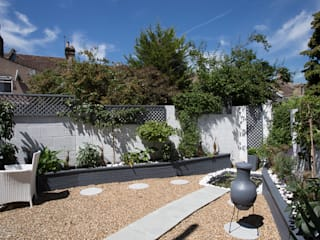 Garden - Greenwich South London by Millennium Interior Designers