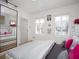 Bedroom - Greenwich - South London di Millennium Interior Designers