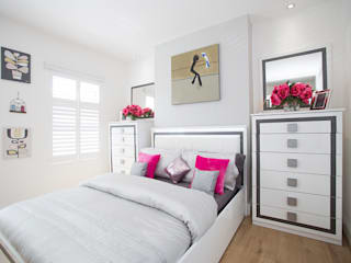 Bedroom - Greenwich - South London من Millennium Interior Designers