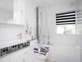 Bathroom - Greenwich - South London من Millennium Interior Designers