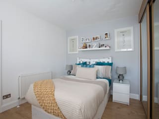 Bedroom 2 - Greenwich - South London by Millennium Interior Designers