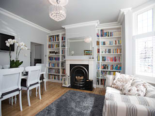 Lounge - Greenwich South London por Millennium Interior Designers