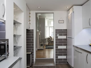 Kitchen - Greenwich - South London por Millennium Interior Designers