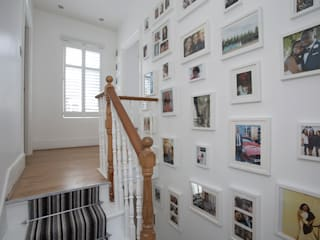 Hall & Stairs - Greenwich South London by Millennium Interior Designers