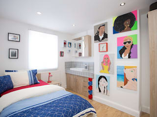 Bedroom 3 - Greenwich - South London by Millennium Interior Designers