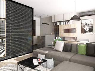 Salas / recibidores de estilo  por Formea Studio, Escandinavo
