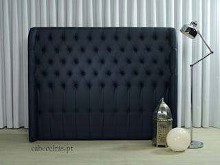 Cabeceiras.pt BedroomBeds & headboards Synthetic Blue