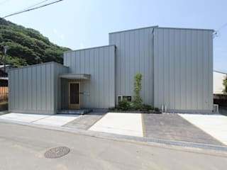 環境建築計画 Modern houses Metal Grey