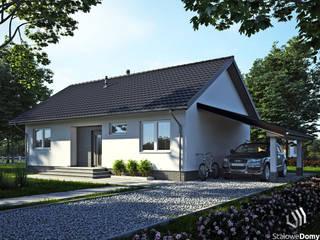 SD5 perspektywa frontowa 2: styl , w kategorii  zaprojektowany przez Stalowe Domy