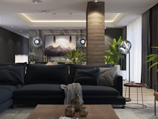 Living room by FARGO DESIGNS,