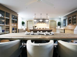 Built-in kitchens by JSD Interiors, Rustic