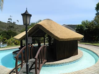 Pool by Cintsa Thatching & Roofing, Rustic