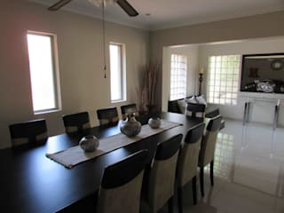 Dining room by DG Construction, Modern