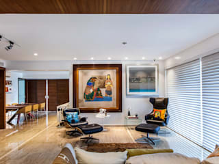 'The Art Apartment' Modern living room by freedom of design Modern