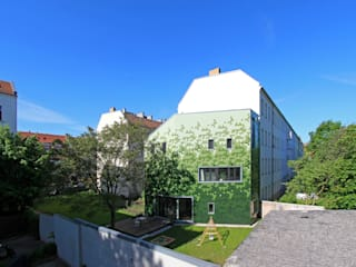 schuppen brandt+simon architekten Modern Houses Ceramic Green