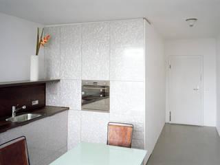 mustern brandt+simon architekten Modern Kitchen White
