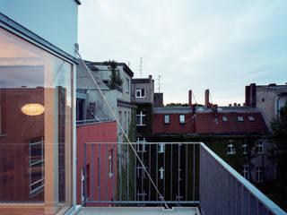 Terrasse de style  par brandt+simon architekten, Moderne
