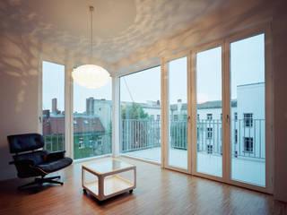 lichten brandt+simon architekten Modern Living Room